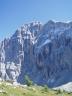 la parete NO vista dal Tissi