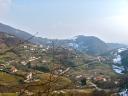 Valrovina vista da poco sopra Fagarè alto